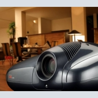 Professional projectors for home theater 3D, 4K