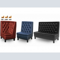 Sofas for cafés, bars and restaurants.
