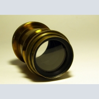 Antique bronze portrait lens from the 19th century. To choose and buy as a gift.