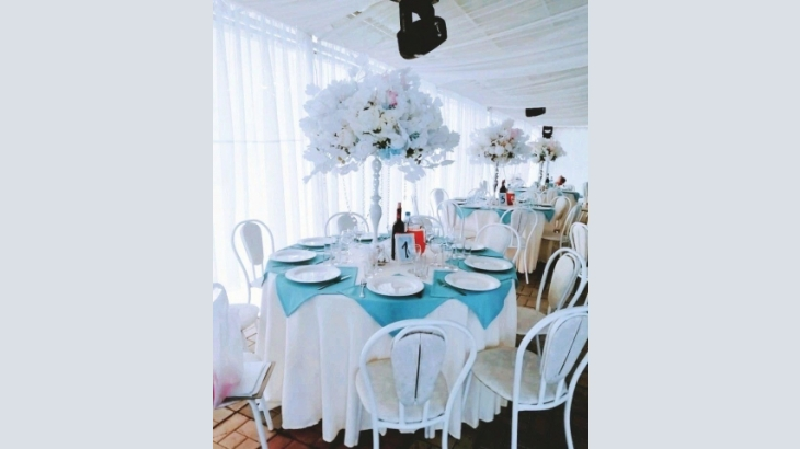 The July wedding party in Tomsk, the Parade Park Hotel
