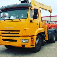 Rent long measures with the crane KAMAZ