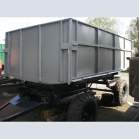 Tipper trailer 2 PTS-4 at circle tractor,